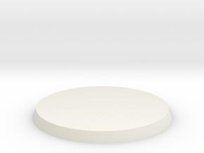 60mm base in White Natural Versatile Plastic