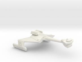 3788 Scale Romulan KCR Heavy Battlecruiser WEM in White Natural Versatile Plastic