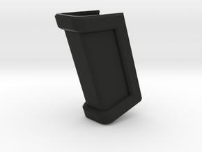 Glock 17 Magazine Grip - Long in Black Natural Versatile Plastic