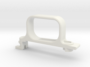 Vsr trigger guard in White Natural Versatile Plastic