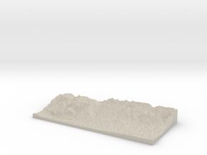 Model of Seegrube in Natural Sandstone