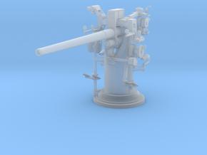 1/87 USN 3 inch 50 cal USN Deck Gun in Smooth Fine Detail Plastic