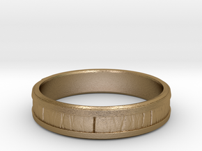 Barrel in Polished Gold Steel: 8 / 56.75