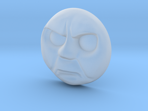 Thomas Face - Angry [H0/00] in Smoothest Fine Detail Plastic
