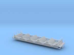 Coil Car Base - HOscale in Smooth Fine Detail Plastic