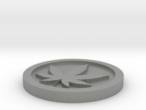Weed/Marijuana Themed Coin/Token For Checkers, Pok in Gray PA12