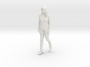 Printle C Femme 894 - 1/32 - wob in White Natural Versatile Plastic