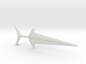 Blackstar Star Sword, Combo (3mm, 4mm, 5mm) in White Natural Versatile Plastic: Medium