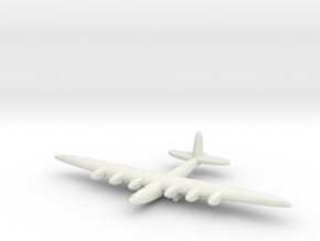 Vickers Victory Bomber  in White Natural Versatile Plastic