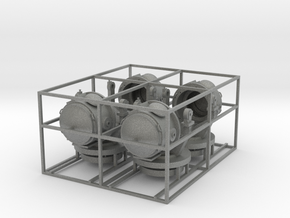 4 deutsche 150cm Flakscheinwerfer vor 37 beweglich in Gray Professional Plastic