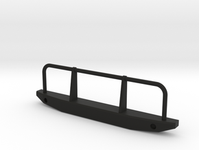 Front Bumper 1 in Black Natural Versatile Plastic