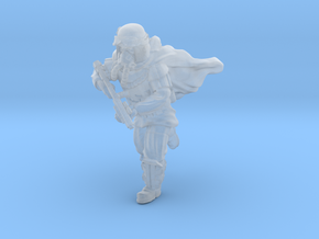 Grunge Trooper Running in Smoothest Fine Detail Plastic