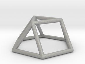 0725 J03 Triangular Cupola E (a=1cm) #1 in Aluminum