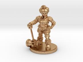 Mechanic_Female_Standard in Natural Bronze