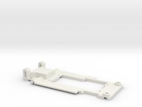 Carrera Universal Chassis for 132 E46 320  in White Natural Versatile Plastic