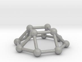 0730 J04 Square Cupola V&E (a=1cm) #3 in Aluminum