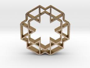 hangerless pendant 15 in Polished Gold Steel