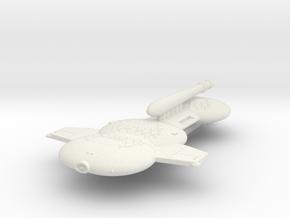 3125 Scale Gorn Godzilla+ Battleship (BB+) SRZ in White Natural Versatile Plastic