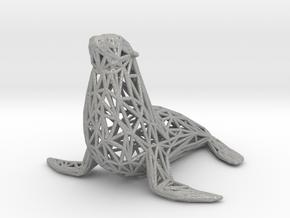 Sea lion in Aluminum