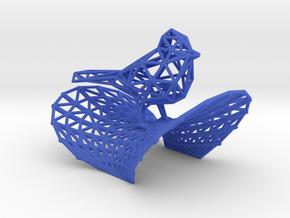 Cardinal bird in Blue Processed Versatile Plastic