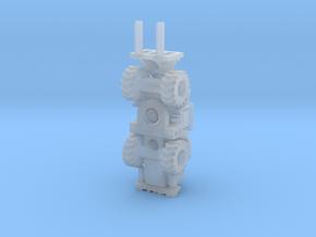 Cat950K forklift  in Smooth Fine Detail Plastic: 1:200