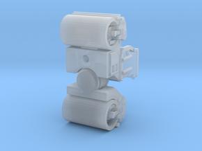 CatCB15 roller tandem in Smoothest Fine Detail Plastic: 1:400