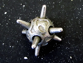 Sputnik Die6 in Stainless Steel
