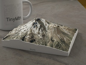 Mt. Shasta, California, USA, 1:50000 in Natural Full Color Sandstone