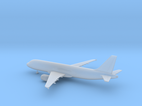 Airbus A320 in Smooth Fine Detail Plastic: 6mm