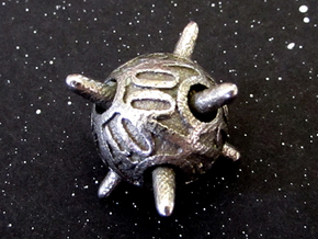 Sputnik Die10 Decader in Polished Bronzed Silver Steel