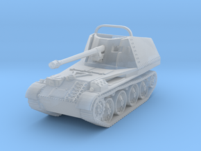 Marder III scale 1/100 in Smooth Fine Detail Plastic