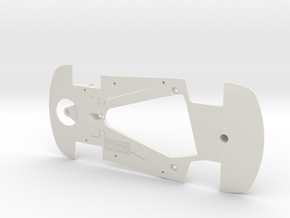 PSSA00401 Chassis for Scaleauto SRT Viper GTS-R in White Natural Versatile Plastic