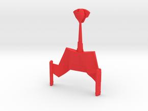 Klingon Empire - KTos D7 in Red Processed Versatile Plastic