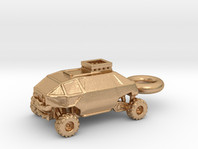 Lost in Space Chariot (New Series) Keychain Fob in Natural Bronze