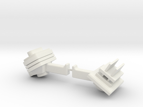 ROM Weapons in White Natural Versatile Plastic