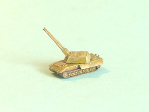 E-100 Flakpanzer AA_Tank 1/285 6mm in Smooth Fine Detail Plastic