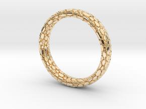 Elipsis Skin Ring in 14K Yellow Gold: 6.5 / 52.75