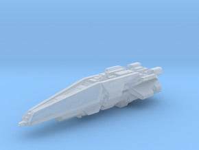 UNSC destroyer high detail 3cm in Smooth Fine Detail Plastic
