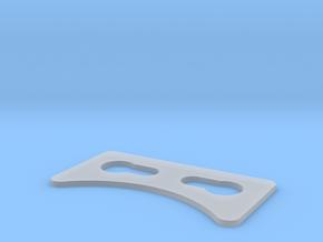 LEFT SIDE MIDDLE DETAILS  in Smooth Fine Detail Plastic