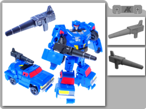 PotP Roadtrap Blaster in Smooth Fine Detail Plastic