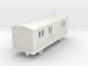 o-87-hb-luggage-brake-coach-1 in White Natural Versatile Plastic