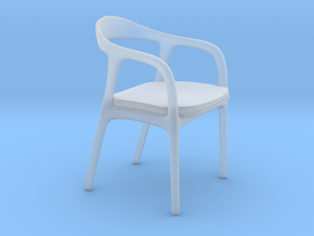 Miniature Neva Chair - Artisan in Smooth Fine Detail Plastic: 1:12