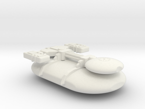 Omni Scale Gorn Small Freighter (Class-I) SRZ in White Natural Versatile Plastic