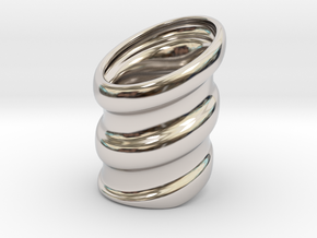 Dead Boys ring in Platinum