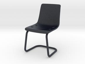 Miniature IKEA Tobias Chair - IKEA in Black PA12: 1:12