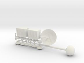 HO Missile Silo Details 2 in White Natural Versatile Plastic