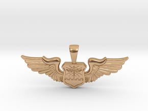 Wingwoman - Navigator Pendant in Polished Bronze