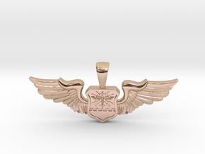 Wingwoman - Navigator Pendant in 14k Rose Gold