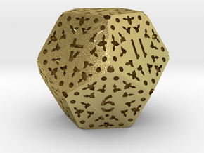D12 Balanced [BETA] - Lace in Natural Brass