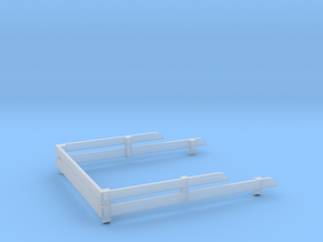 1:25 Chevy Bed Stakes in Smooth Fine Detail Plastic